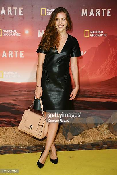 Laura Adriani attends the premiere of 'Marte' at The Space Moderno on November 8 2016 in Rome Italy