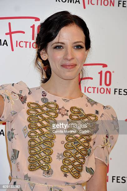 Laura Adriani attends the red carpet for ' Good Behavior ' on December 10 2016 in Rome Italy