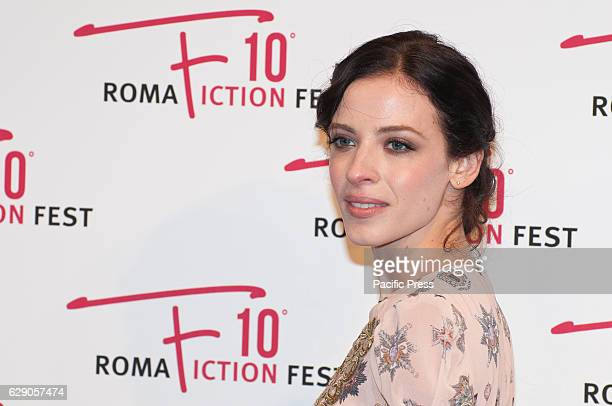 Laura Adriani during the red carpet at the fourth day of the 'Roma Fiction Fest 2016'