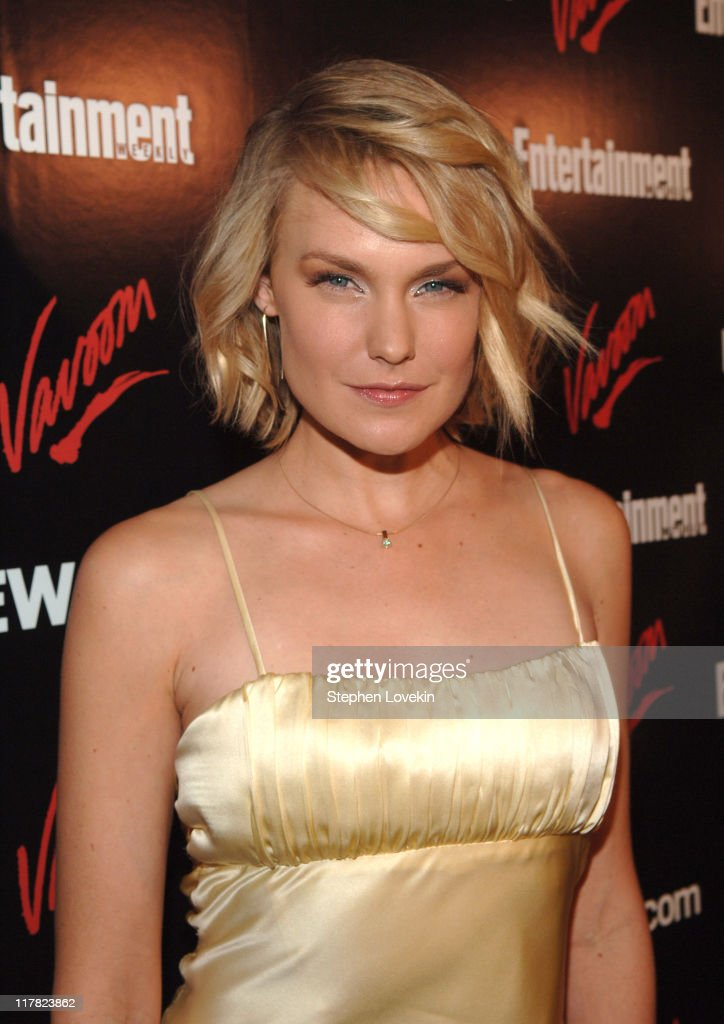 Laura Allen during Entertainment Weekly/Vavoom 2007 Upfront Party - Red Carpet at The Box in New York City, New York, United States.
