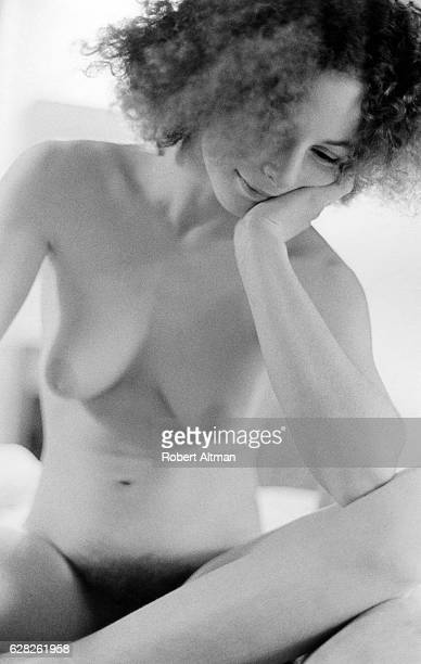 Laura Aura poses for a nude portrait on January 24 1970 in San Francisco California