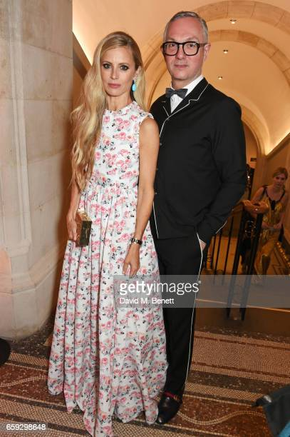 Laura Bailey and Josh Wood attend the Portrait Gala 2017 sponsored by William Son at the National Portrait Gallery on March 28 2017 in London England