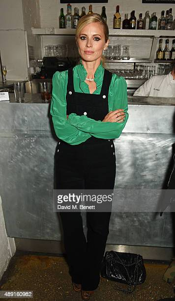 Laura Bailey attends a private dinner hosted by Matchesfashioncom to celebrate the launch of Hillier Bartley with designers Katie Hillier and Luella...