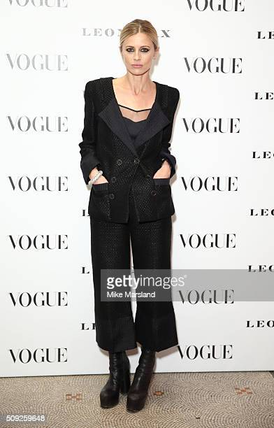 Laura Bailey attends at Vogue 100 A Century Of Style atNational Portrait Gallery on February 9 2016 in London England