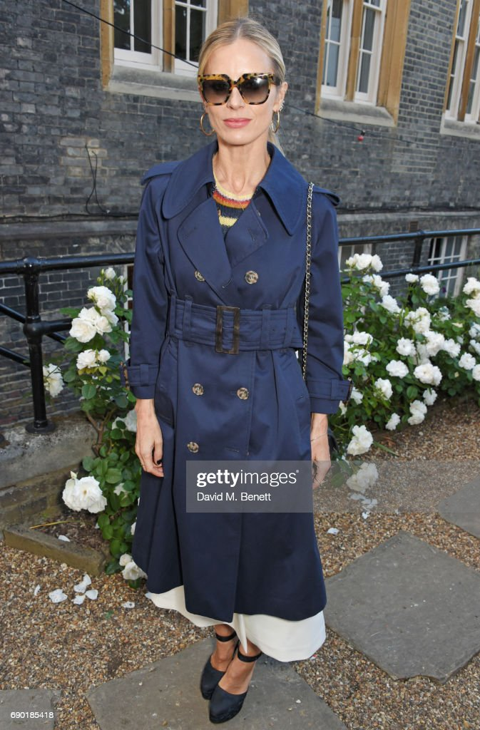 Laura Bailey attends the ALEXACHUNG London Launch & Summer 17 Collection Reveal at the Danish Church of Saint Katharine on May 30, 2017 in London, England.