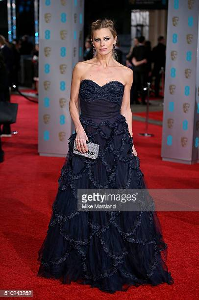 Laura Bailey attends the EE British Academy Film Awards at The Royal Opera House on February 14 2016 in London England