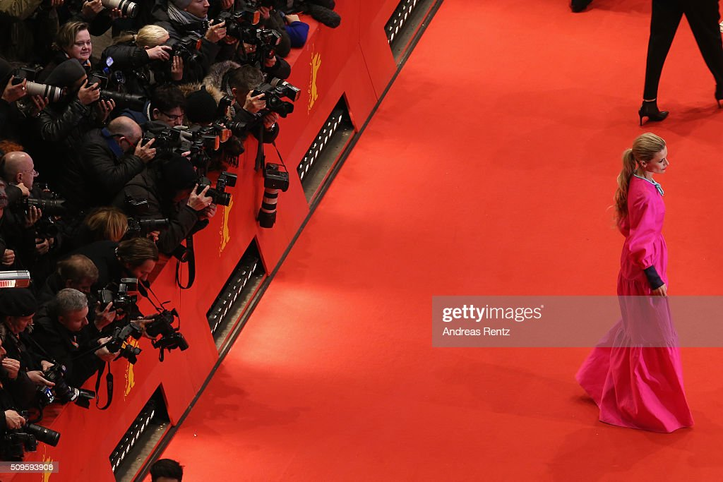 Laura Bailey attends the 'Hail, Caesar!' premiere during the 66th Berlinale International Film Festival Berlin at Berlinale Palace on February 11, 2016 in Berlin, Germany.