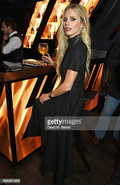 Laura Bailey attends the launch of La Maison Remy Martin the cognac brand's new members club on November 2 2015 in London England