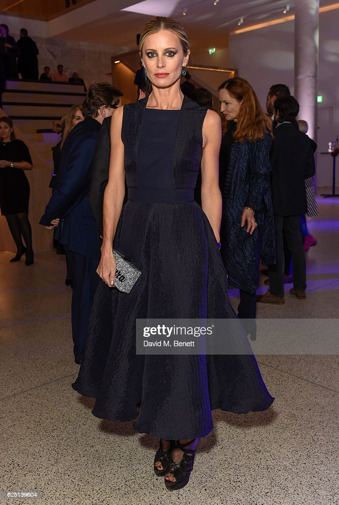 Laura Bailey attends the launch of the new Design Museum co-hosted by Alexandra Shulman, Sir Terence Conran & Deyan Sudjic on November 22, 2016 in London, United Kingdom.