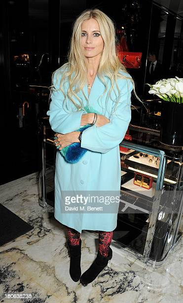 Laura Bailey attends the launch of the new Tom Ford London flagship store on Sloane Street on September 15 2013 in London England