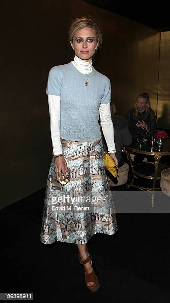 Laura Bailey attends the launch of the Vogue Pop Up Club as part of Westfield London's 5th birthday celebrations at Westfield on October 30 2013 in...