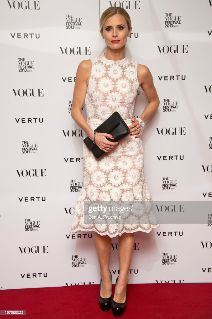 Laura Bailey attends the opening party for The Vogue Festival in association with Vertu at Southbank Centre on April 27, 2013 in London, England.