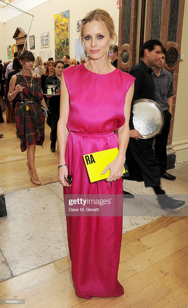 <a gi-track='captionPersonalityLinkClicked' href=/galleries/search?phrase=Laura+Bailey+-+Model&family=editorial&specificpeople=202040 ng-click='$event.stopPropagation()'>Laura Bailey</a> attends the preview party for The Royal Academy Of Arts Summer Exhibition 2013 at Royal Academy of Arts on June 5, 2013 in London, England.