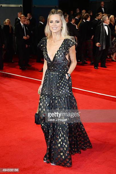 Laura Bailey attends the Royal World Premiere of 'Spectre' at Royal Albert Hall on October 26 2015 in London England
