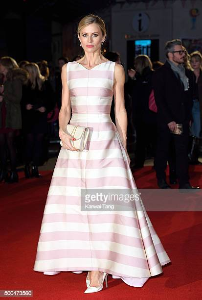 Laura Bailey attends the UK Film Premiere of 'The Danish Girl' on December 8 2015 in London United Kingdom