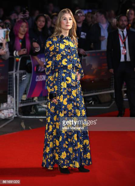 Laura Bailey attends the UK Premiere of 'Three Billboards Outside Ebbing Missouri' at the closing night gala of the 61st BFI London Film Festival on...