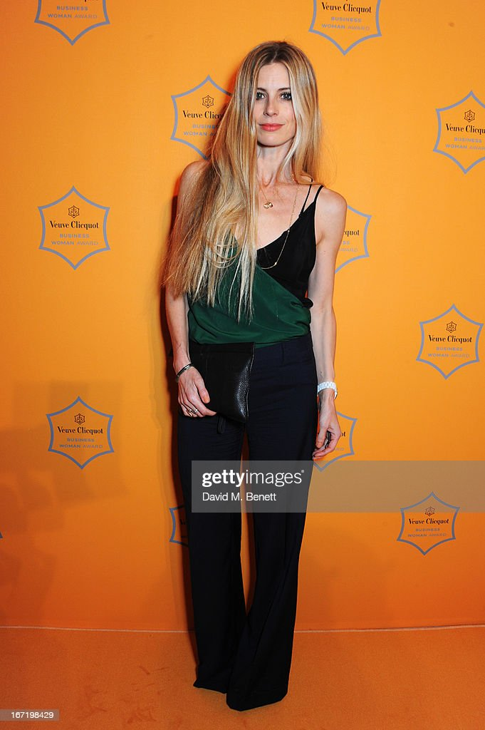 Laura Bailey attends the Veuve Clicquot Business Woman Award 2013 at Claridge's Hotel on April 22, 2013 in London, England.