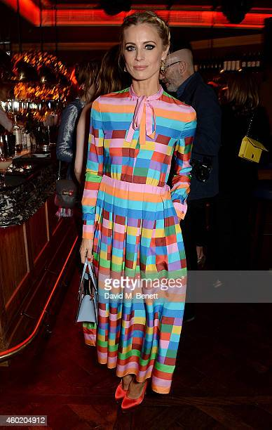 Laura Bailey attends the Vogue Christmas Party at Rififi on December 9 2014 in London England