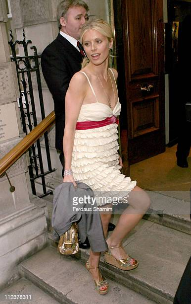 Laura Bailey during '4 Inches' A Project For Women About Women By Women Charity Auction at Christie's in London Great Britain