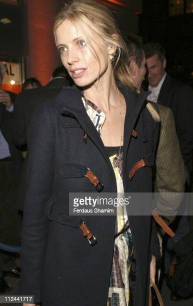 Laura Bailey during Be Cointreauversial Private View at Getty Images Gallery in London Great Britain