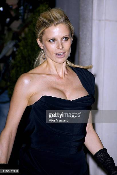 Laura Bailey during The Evening Standard Film Awards 2005 at The Savoy Hotel in London Great Britain
