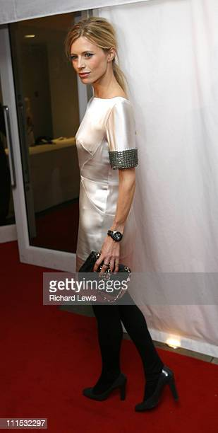 Laura Bailey during Vogue's 90th Birthday and Motorola Party Red Carpet Arrivals in London United Kingdom
