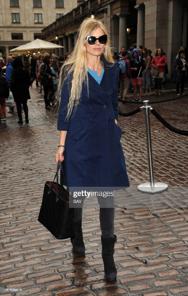 <a gi-track='captionPersonalityLinkClicked' href=/galleries/search?phrase=Laura+Bailey+-+Model&family=editorial&specificpeople=202040 ng-click='$event.stopPropagation()'>Laura Bailey</a> pictured in Covent Garden on May 1, 2014 in London, England.