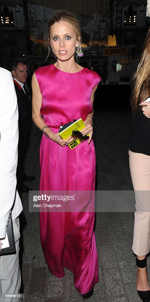 Laura Bailey sighting at The Royal Academy of Arts Summer Exhibition on June 5, 2013 in London, England.