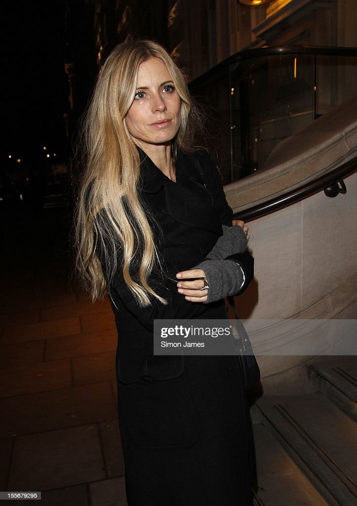 Laura Bailey sighting on November 6, 2012 in London, England.