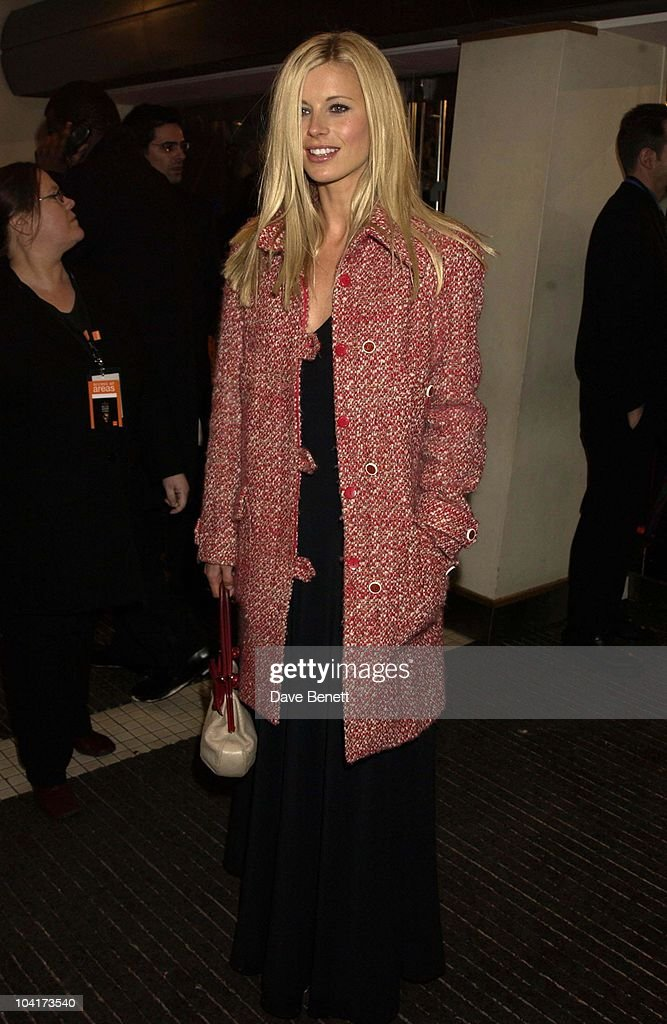 Laura Bailey, The Orange British Academy Film Awards (bafta) 2002, At The Odeon, Leicester Square, London