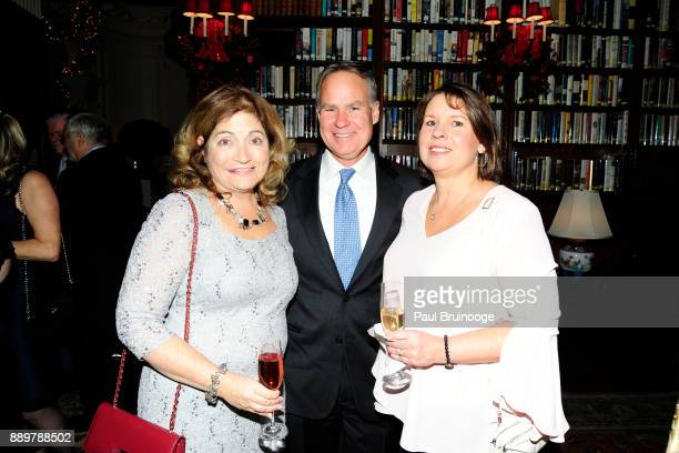 Laura Barrett David Kennedy and Nancy Kennedy attend the Hackensack University Medical Center Foundation Holiday Party Hosted by Jon Fitzgerald Diane...