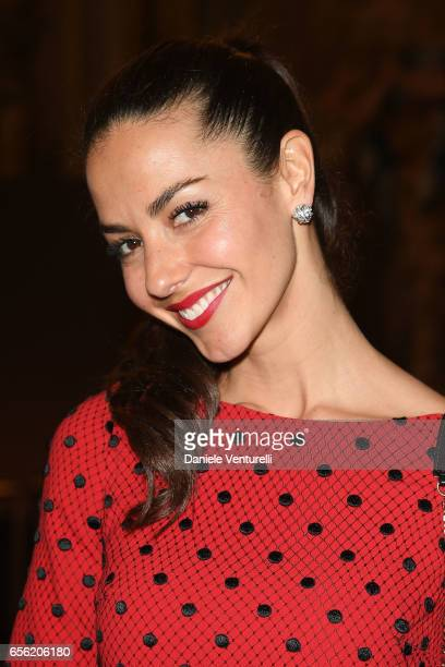 Laura Barriales attends a dinner for 'Damiani Un Secolo Di Eccellenza' at Palazzo Reale on March 21 2017 in Milan Italy