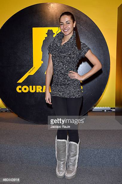 Laura Barriales attends day 5 of 24th Courmayeur Noir In Festival on December 13 2014 in Courmayeur Italy