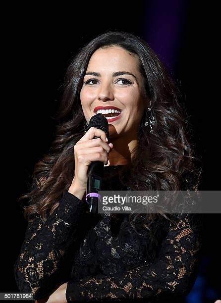 Laura Barriales attends La Gazzetta dello Sport Gala' Event at the Metropol on December 17 2015 in Milan Italy