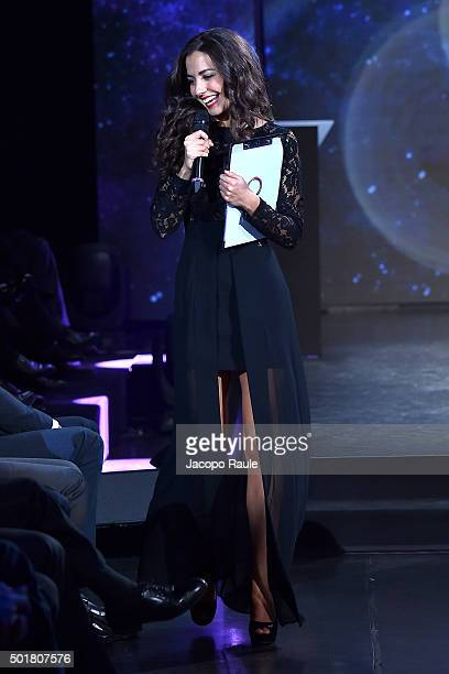 Laura Barriales attends the 'Gazzetta Awards' on December 17 2015 in Milan Italy