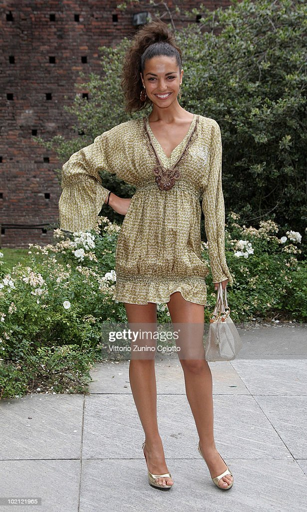 Laura Barriales attends the RAI Autumn / Winter 2010 TV Schedule held at Castello Sforzesco on June 15, 2010 in Milan, Italy.