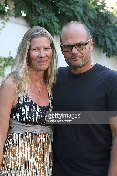 Laura Bauer and Chris Bauer attend the Special Screening of 'The Odd Life of Timothy Green' on July 22 2012 in East Hampton New York