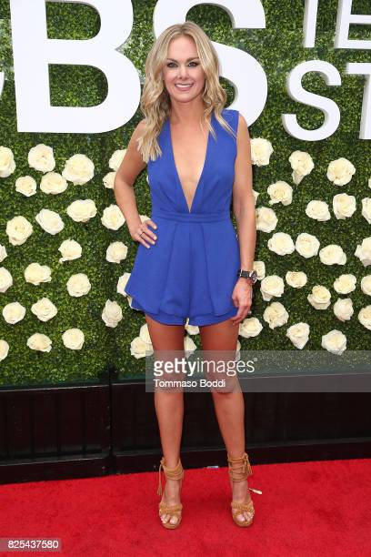 Laura Bell Bundy attends the 2017 Summer TCA Tour CBS Television Studios' Summer Soiree at CBS Studios Radford on August 1 2017 in Studio City...