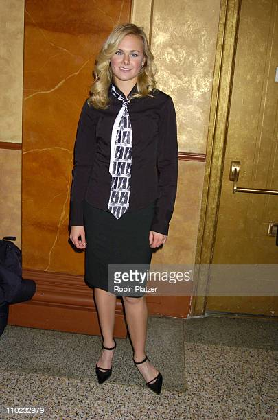 Laura Bell Bundy during 'Pippin' in Concert to Benefit The National AIDS Fund and The Storm Theatre November 29 2004 at The Manhattan Centers Grand...