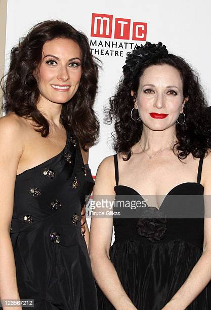 Laura Benanti and Bebe Neuwirth pose at The Manhattan Theatre Club's Winter Benefit 'An Intimate Night' at The Plaza Hotel on January 24 2011 in New...