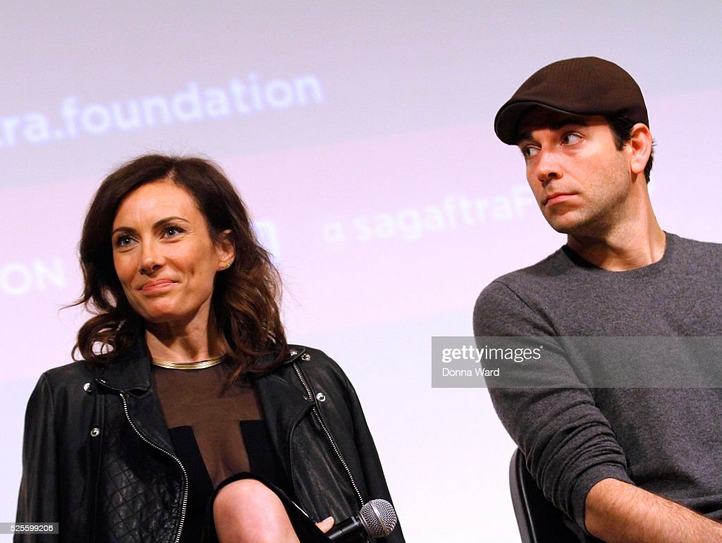 <a gi-track='captionPersonalityLinkClicked' href=/galleries/search?phrase=Laura+Benanti&family=editorial&specificpeople=657897 ng-click='$event.stopPropagation()'>Laura Benanti</a> and <a gi-track='captionPersonalityLinkClicked' href=/galleries/search?phrase=Zachary+Levi&family=editorial&specificpeople=242766 ng-click='$event.stopPropagation()'>Zachary Levi</a> appear to discuss 'She Loves Me' during the SAG-AFTRA Foundation Conversations series at The New School on April 28, 2016 in New York City.