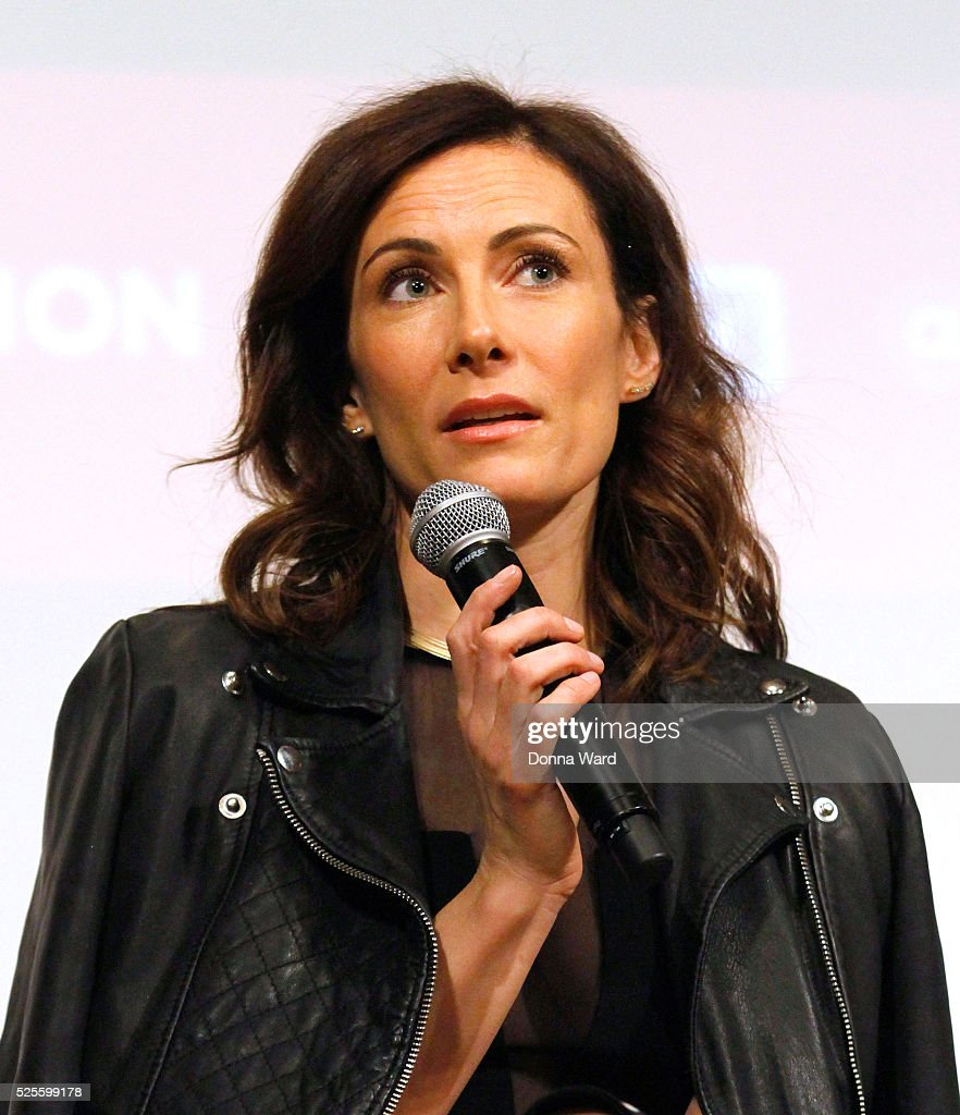 <a gi-track='captionPersonalityLinkClicked' href=/galleries/search?phrase=Laura+Benanti&family=editorial&specificpeople=657897 ng-click='$event.stopPropagation()'>Laura Benanti</a> appears to discuss 'She Loves Me' during the SAG-AFTRA Foundation Conversations series at The New School on April 28, 2016 in New York City.