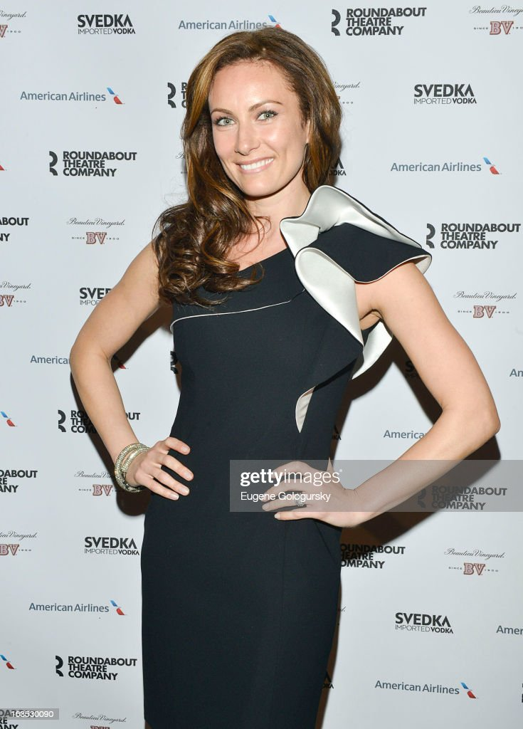 Laura Benanti attends the 2013 Roundabout Theatre Company Spring Gala at Hammerstein Ballroom on March 11, 2013 in New York City.