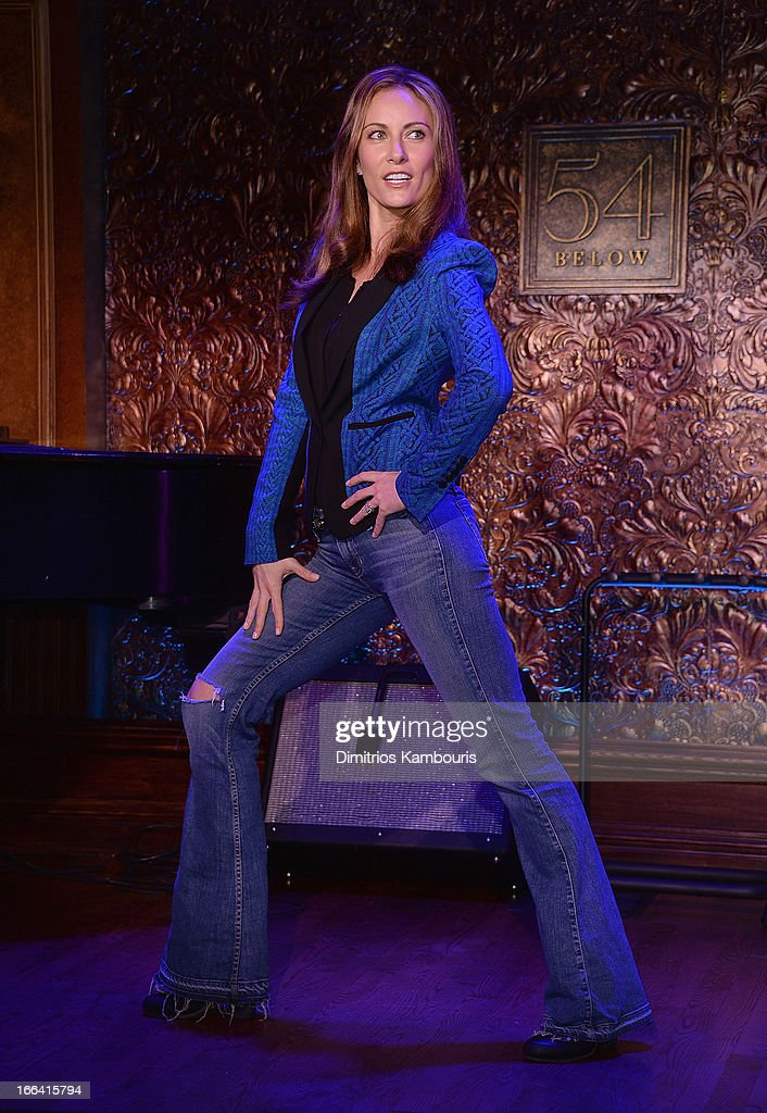 Laura Benanti attends the 54 Press Preview at 54 Below on April 12, 2013 in New York City.