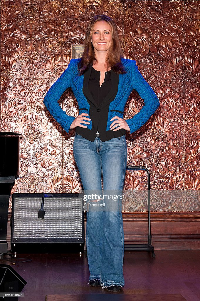 Laura Benanti attends the Press Preview at 54 Below on April 12, 2013 in New York City.