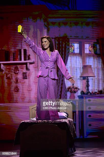 Laura Benati performs She Loves Me at THE 70TH ANNUAL TONY AWARDS live from the Beacon Theatre in New York City Sunday June 12 on the CBS Television...