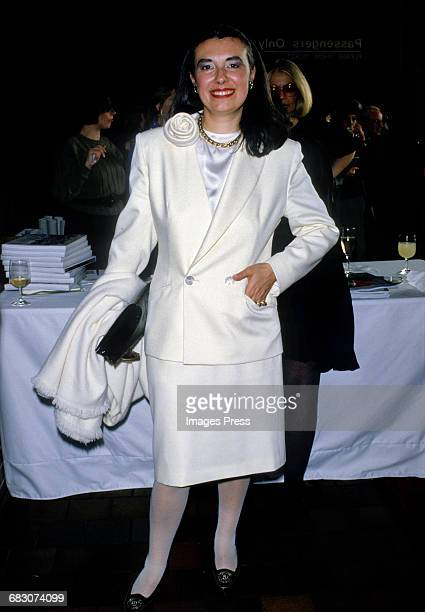 Laura Biagiotti attends the Moda Italia Gala promoting Italian trade circa 1989 in New York City