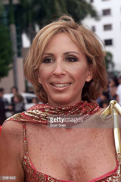 Laura Bozzo arrives at the Billboard Latin Music Awards at the Jackie Gleason Theater in Miami Florida 4/26/01 Photo by Scott Gries/ImageDirect