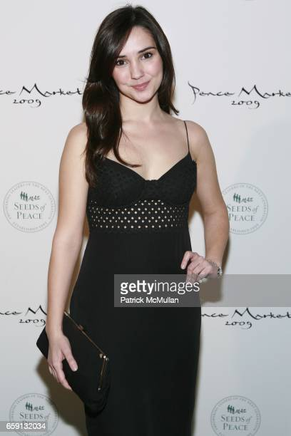 Laura Breckenridge attends Peace Market 2009 For SEEDS OF PEACE Hosted by IVANKA TRUMP at Cipriani Wall Street on February 19 2009 in New York City