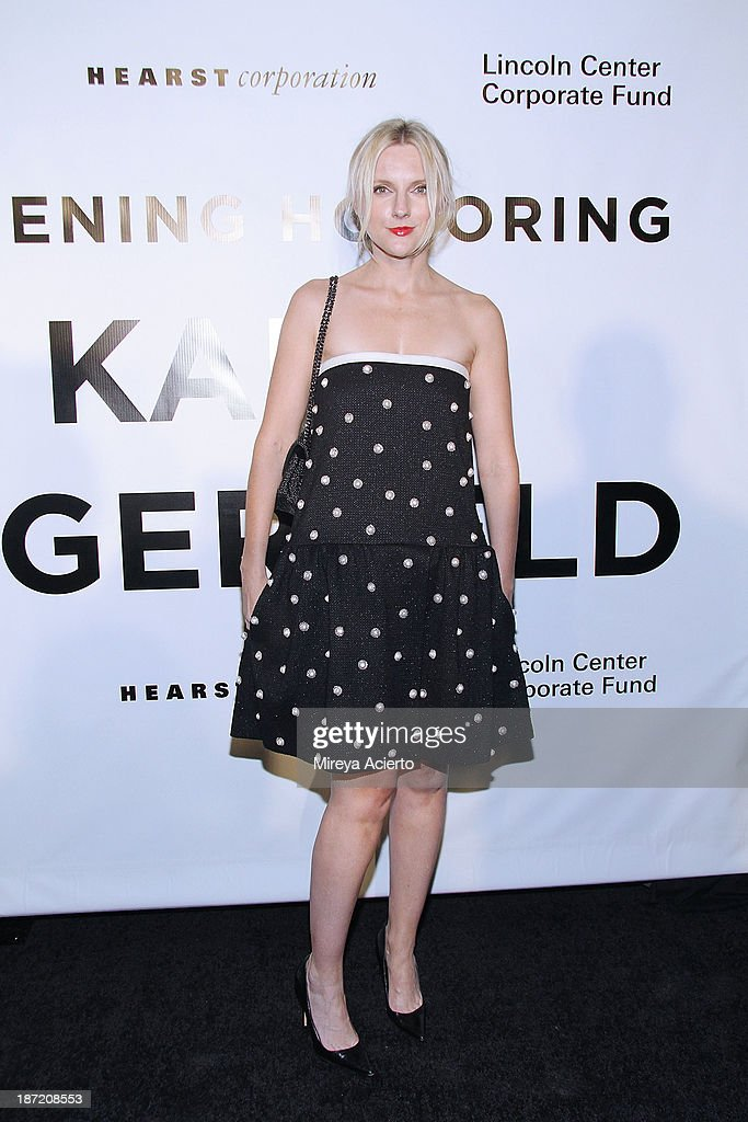 Laura Brown attends An Evening Honoring Karl Lagerfeld at Alice Tully Hall on November 6, 2013 in New York City.